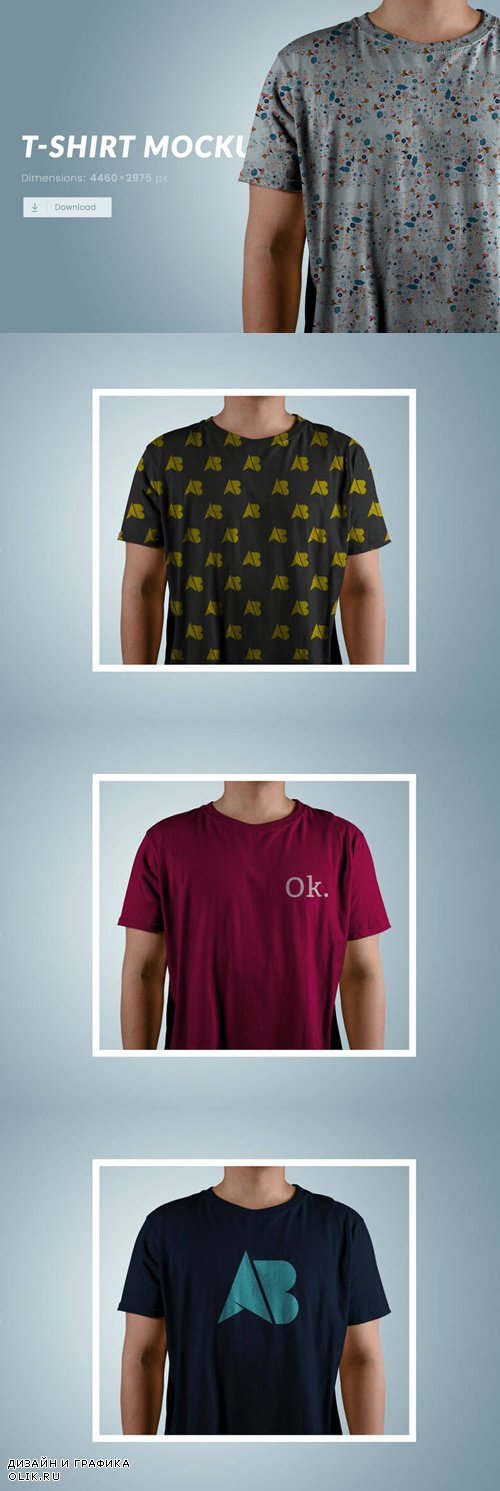 T-Shirt Mockup Psd, part 4