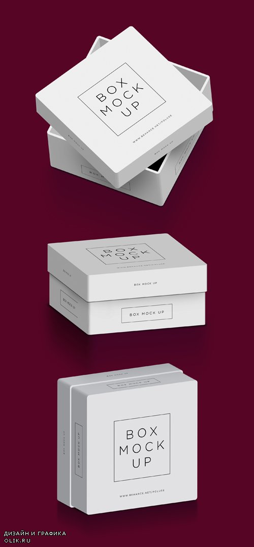 Packaging Box Mockup Psd, part 2