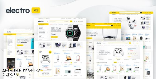 ThemeForest - Electro v2.0.5 - Electronics Store WooCommerce Theme - 15720624