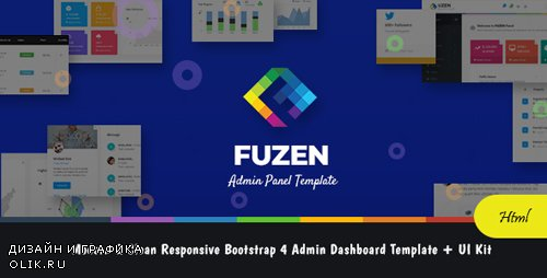 ThemeForest - Fuzen v1.0 - Modern & Clean Responsive Bootstrap 4 Admin Dashboard Template + UI Kit - 21810131