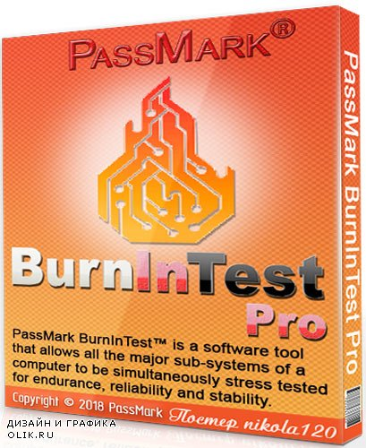 PassMark BurnInTest Pro 9.0 Build 1006