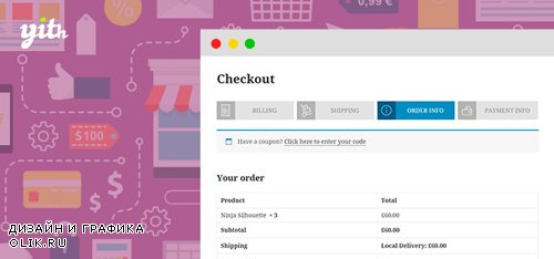 YiThemes - YITH WooCommerce Multi-step Checkout v1.6.4