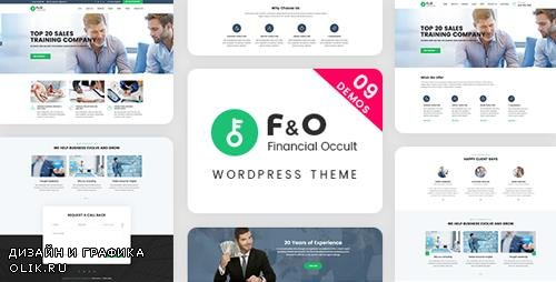 ThemeForest - F&O v1.1.7  - Consultant Finance WordPress Theme - 19919287