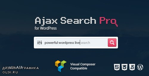 CodeCanyon - Ajax Search Pro v4.13.1 - Live WordPress Search & Filter Plugin - 3357410