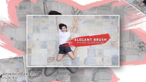 Elegant Brush Photo Slideshow 108401 - After Effects Templates