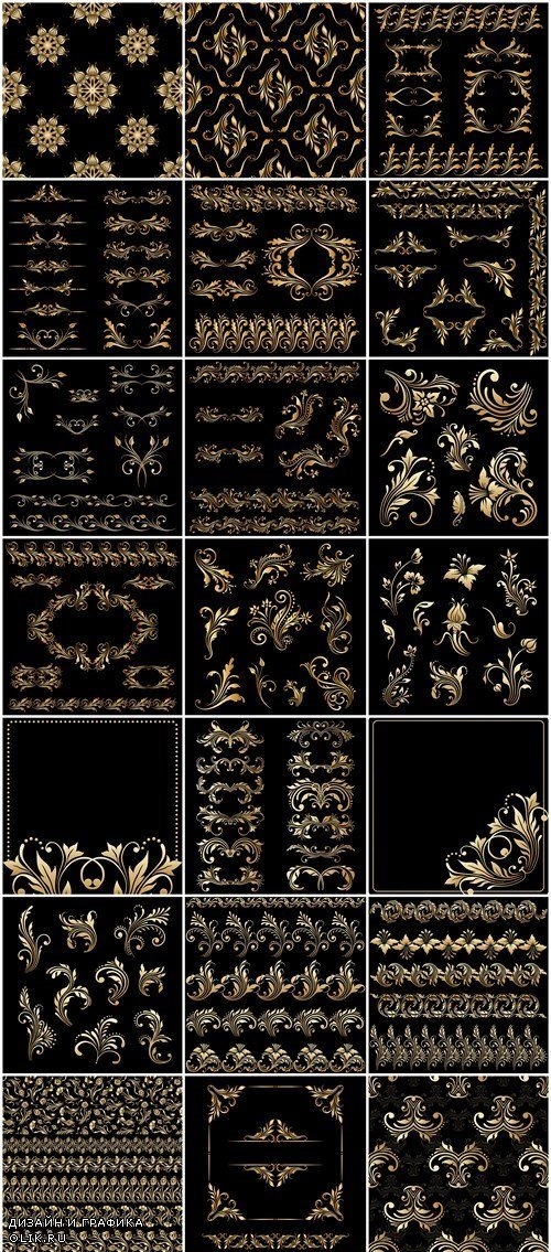 Decorative ornament and elements of design - 24xEPS