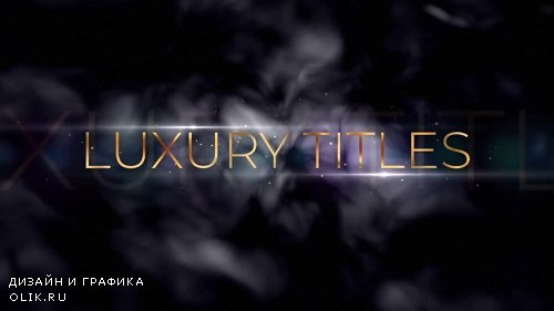 Golden Luxury Titles 116934 - After Effects Templates