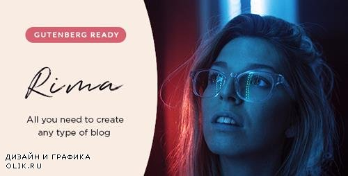ThemeForest - Rima v1.6.1 - Personal Blog WordPress Theme - 22372485