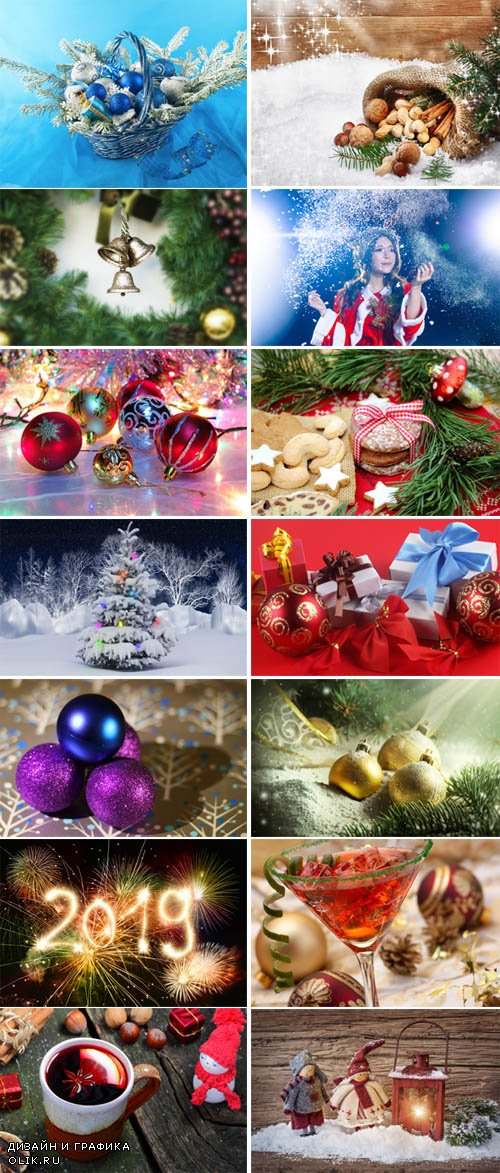 Christmas - New Year Wallpapers