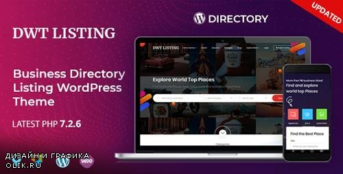 ThemeForest - DWT Listing v2.0.5 - Directory & Listing WordPress Theme - 21976132