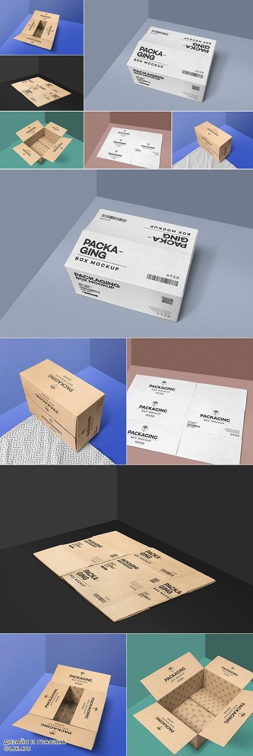 Packaging Box Mockups 2942686