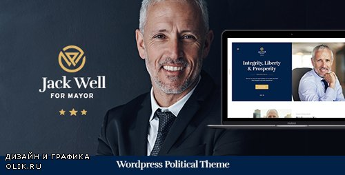 ThemeForest - Jack Well v1.0 - Elections Campaign & Political WordPress Theme - 22311876