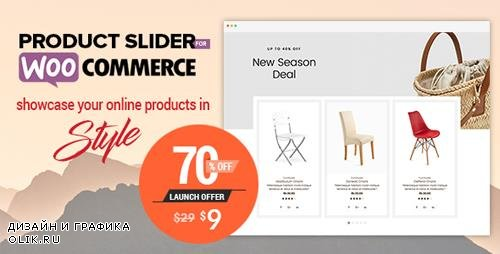 CodeCanyon - Product Slider For WooCommerce v1.0.3 - Woo Extension to Showcase Products - 22645023