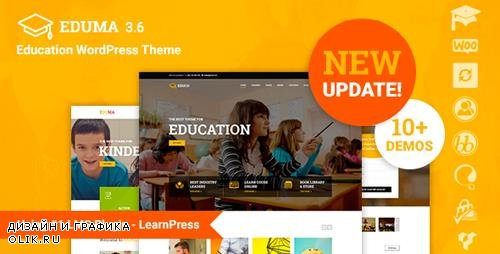 ThemeForest - Eduma v3.6.2 - Education WordPress Theme | Education WP - 14058034 - NULLED