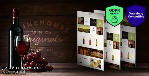ThemeForest - Wine House v2.2 - Winery & Restaurant WordPress Theme - 10186096