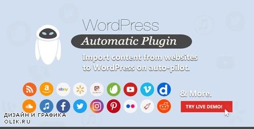CodeCanyon - WordPress Automatic Plugin v3.42.0 - 1904470 -