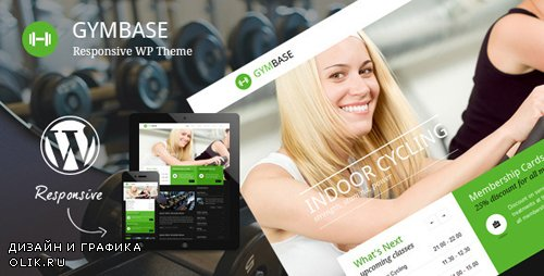 ThemeForest - GymBase v12.0 - Responsive Gym Fitness WordPress Theme - 2732248