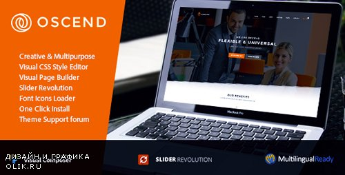 ThemeForest - Oscend pluse v2.03 - WordPress Theme - 20504932