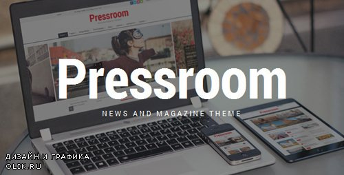 ThemeForest - Pressroom v4.0 - News and Magazine WordPress Theme - 10678098