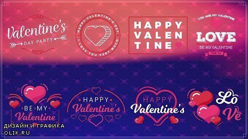Valentine's Day II 64173 - After Effects Templates