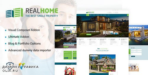 ThemeForest - RealHome v1.4 - Single Property Theme - 18767950