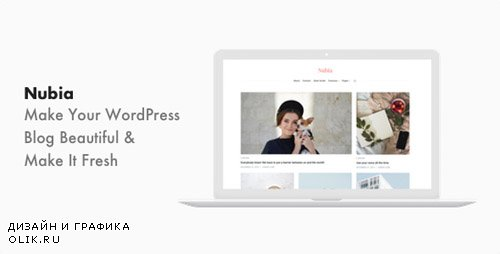 ThemeForest - Nubia v1.0.6 - Minimal Blog and Magazine WordPress Theme - 21661581