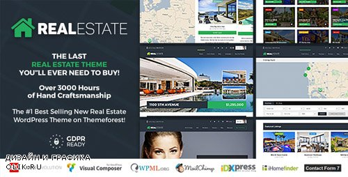 ThemeForest - Real Estate 7 v2.8.7 - Real Estate WordPress Theme - 12473778