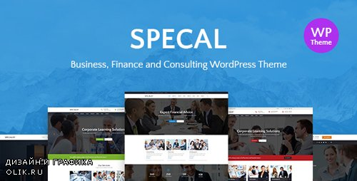 ThemeForest - Specal v1.3 - Financial, Consulting WordPress Theme - 20396082
