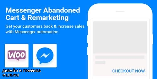 CodeCanyon - CartBack v2.8.1 - WooCommerce Abandoned Cart & Remarketing in Facebook Messenger - 20852369 - NULLED