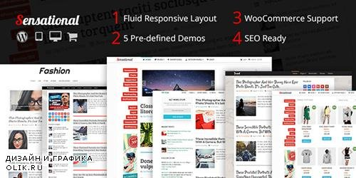 MyThemeShop - Sensational v3.2.2 - Fully Responsive & SEO optimized Magazine WP Theme