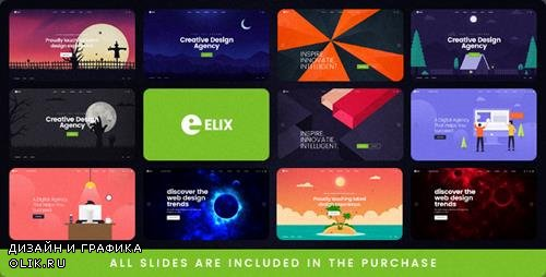 ThemeForest - Elix - A Super PSD Template for Designers, Artists and Agencies (Update: 4 January 19) - 22441028