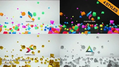 4 In 1 Logo Reveal 3D 75230 - AFEFS Templates