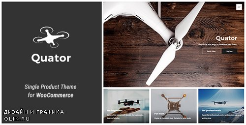 - Quator v1.0.1 - Single Product WordPress Theme - 20953598