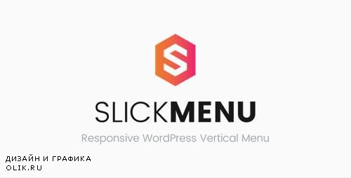 CodeCanyon - Slick Menu v1.1.0 - Responsive WordPress Vertical Menu - 17723518