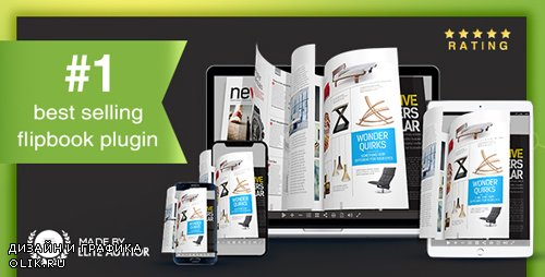 CodeCanyon - Real3D FlipBook v3.6.13 - WordPress Plugin - 6942587