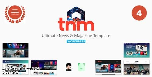 ThemeForest - The Next Mag v4.0 - Ultimate Magazine WordPress Theme - 22449339