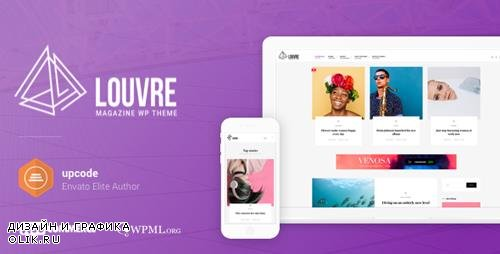 ThemeForest - Louvre v1.0.8 - Minimal Magazine and Blog WordPress Theme - 19842561
