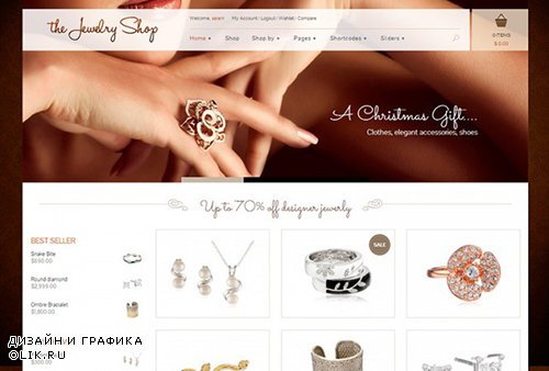 YiThemes - The Jewelry Shop v1.6.0 - A Luxurious And Elegant Theme To Sell Your Products