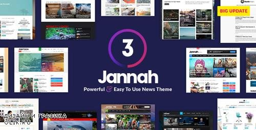 ThemeForest - Jannah News v3.2.0 - Newspaper Magazine News AMP BuddyPress - 19659555 - NULLED