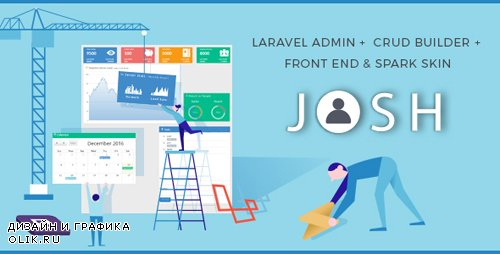 CodeCanyon - Josh v5.12.8 - Laravel Admin Template + Front End + CRUD - 8754542