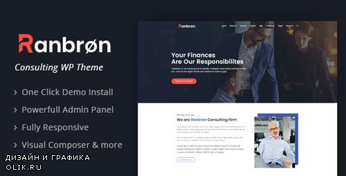 ThemeForest - Ranbron v1.7 - Business and Consulting WordPress Theme - 22294129