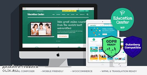 ThemeForest - Education Center v3.5.1 - Training Courses WordPress Theme - 10652918