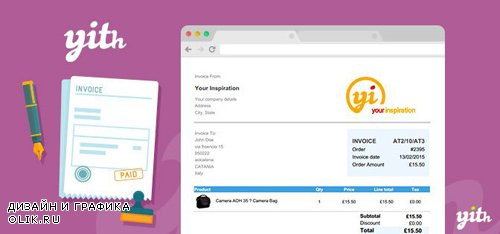 YiThemes - YITH WooCommerce PDF Invoice and Shipping List v1.9.4