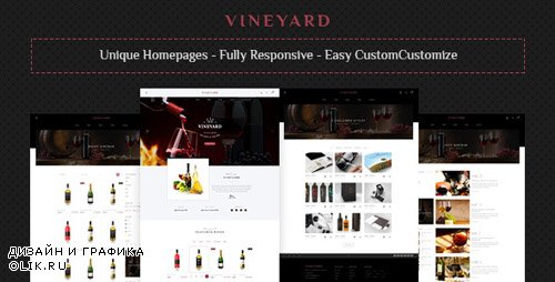 ThemeForest - Vine Yard HTML Template (Update: 1 February 19) - 23208639