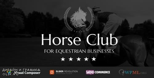ThemeForest - Horse Club v2.1 - Equestrian WordPress Theme - 13623589