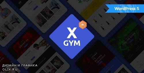 ThemeForest - X-Gym v1.1 - Fitness WordPress Theme for Fitness Clubs, Gyms & Fitness Centers - 19693013