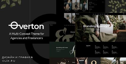 ThemeForest - Overton v1.1 - A Creative Multi-Concept Theme for Agencies and Freelancers - 22432375