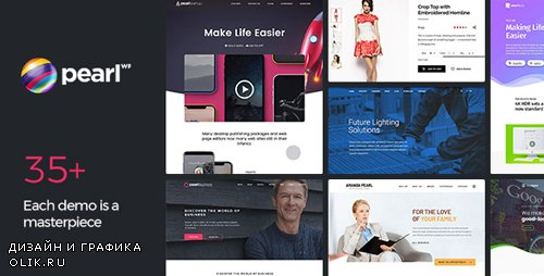 ThemeForest - Pearl Business v2.9.3 - Corporate Business WordPress Theme for Company and Businesses - 20432158 -