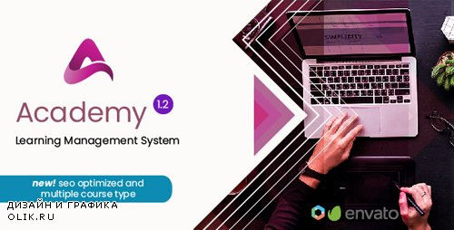 CodeCanyon - Academy v1.2 - Course Based Learning Management System - 22703468 -