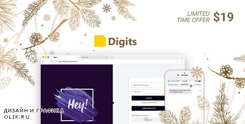 CodeCanyon - Digits v6.3.2 - WordPress Mobile Number Signup and Login - 19801105 - NULLED